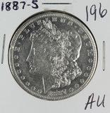 1887-S MORGAN DOLLAR- AU