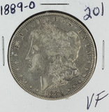 1889-O MORGAN DOLLAR - VF