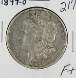 1897-O MORGAN DOLLAR - F+
