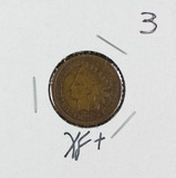 1886 - INDIAN HEAD CENT - XF+