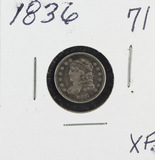 1836 - CAPPED BUST HALF DIME