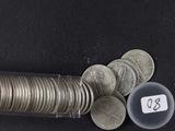 1 - ROLL (50 COINS) MERCURY DIMES