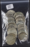 LOT OF 23 - 90% SILVER DIMES