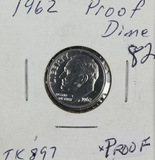1962 - PROOF SILVER ROOSEVELT DIME