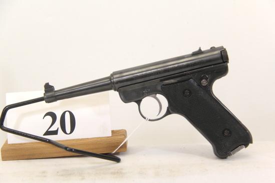 Ruger, Model Auto, Semi Auto Pistol,  22 cal,