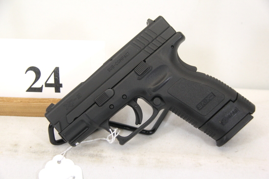 Springfield Armory, Model XD-9, Semi Auto Pistol,