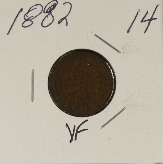 1882 INDIAN HEAD CENT - VF
