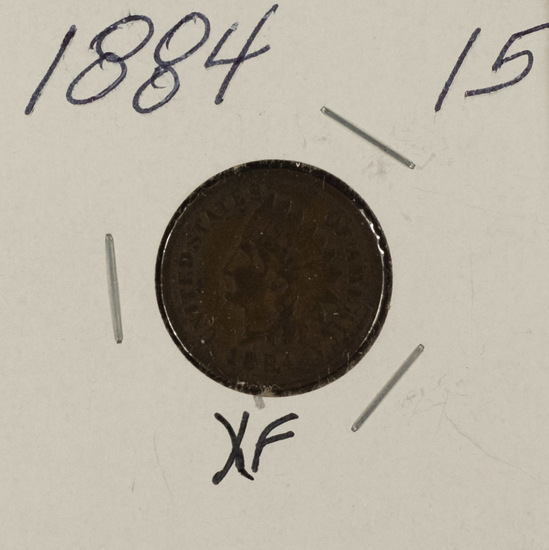 1884 INDIAN HEAD CENT - XF