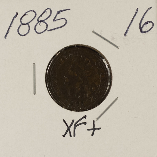 1885 INDIAN HEAD CENT - XF