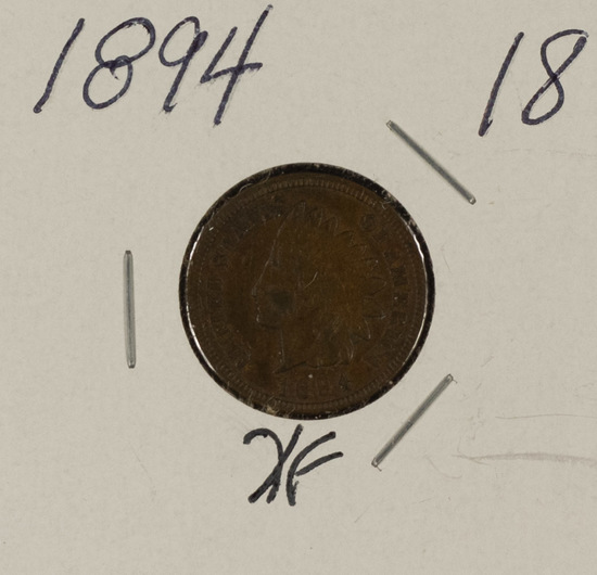 1894 INDIAN HEAD CENT - XF