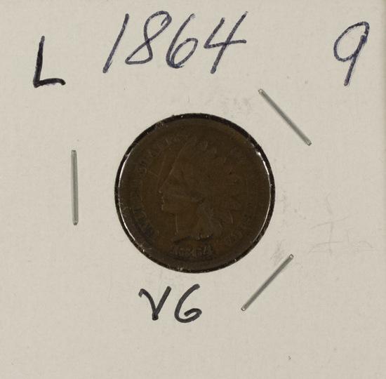 1864 - L INDIAN HEAD CENT  - VG