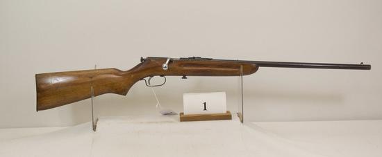 Western Field, Model 36, Bolt Rifle, 22 cal,