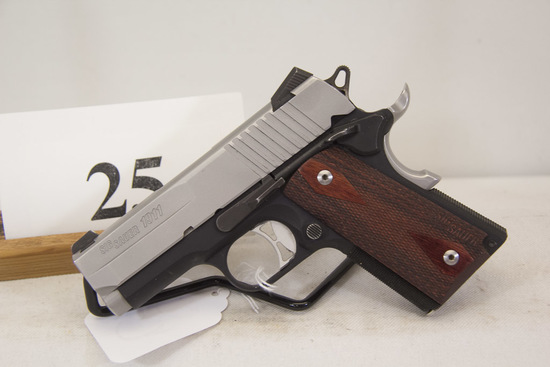 Sig Sauer, Model 1911, Semi Auto Pistol, 45 ACP
