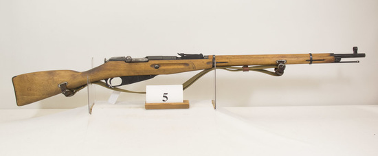 Mosin Nagnet, Model Military, Bolt rifle, 7.62 x