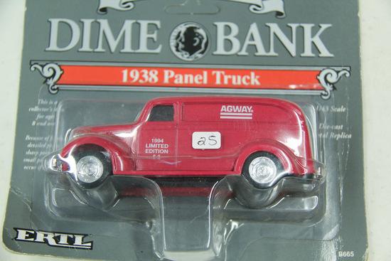 1/43 ERTL 1938 Chevy Panel Truck #B665 Agway