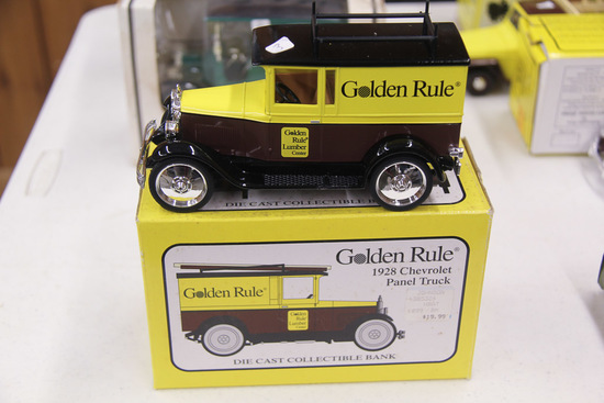 1/24 Liberty Classics 1928 Chevy Panel Truck Bank
