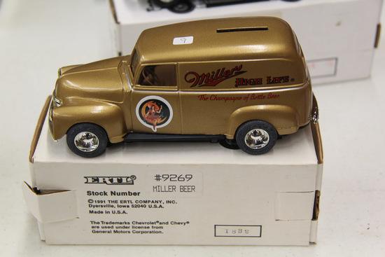 1/25 ERTL 1950 GMC Panel Truck Bank, #9262