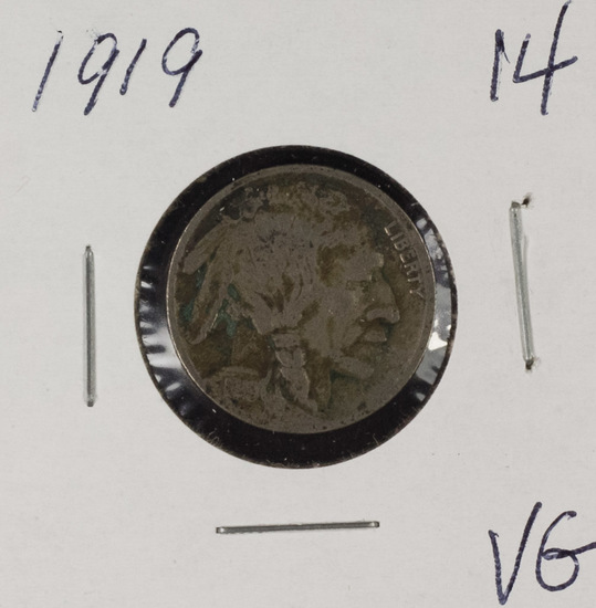 1919 - BUFFALO NICKEL - VG