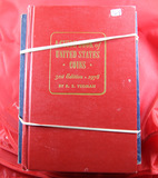 1978 RED BOOK AND 11 - WHITMAN ALBUMS ( NO COINS )