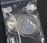 3 ($1.50 FACE) FRANKLIN HALF DOLLARS