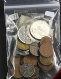 1 - LOT OF WORLD COINS