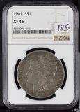 1901 - NGC XF-45 MORGAN DOLLAR