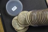 17 - 1921 MORGAN DOLLARS - VF -AU