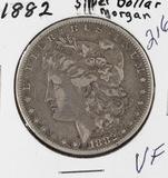 1882 - MORGAN DOLLAR - VF