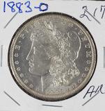 1883-O MORGAN DOLLAR - AU