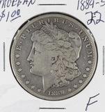 1889-S MORGAN DOLLAR - F