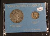 2 - COIN SET 1944 MERCURY DIME