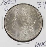 1883-O MORGAN DOLLAR - UNC