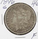 1896-S MORGAN DOLLAR - F
