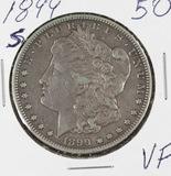 1899-S MORGAN DOLLAR - VF