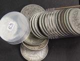 1 - ROLL CIRC 1921 MORGAN DOLLARS