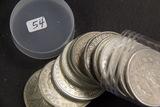 12 - 1921 - MIXED MINTS MORGAN DOLLARS