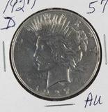 1927-D PEACE DOLLAR - AU KEY DATES