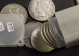 1 -ROLL 1922-1923 PEACE DOLLARS ( 20 COINS)