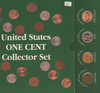 US ONE CENT COLLECTOR TYPE SET