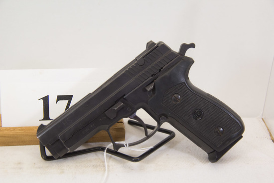 H. S., Model None, Semi Auto Pistol, 9 mm cal,