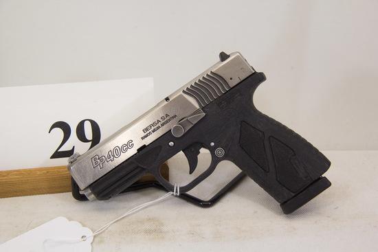 Bersa, Model BP40CC, Semi Auto Pistol, 40 S/W