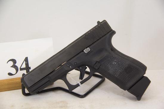 Glock, Model 19, Gen 5, Semi Auto Pistol, 9 mm