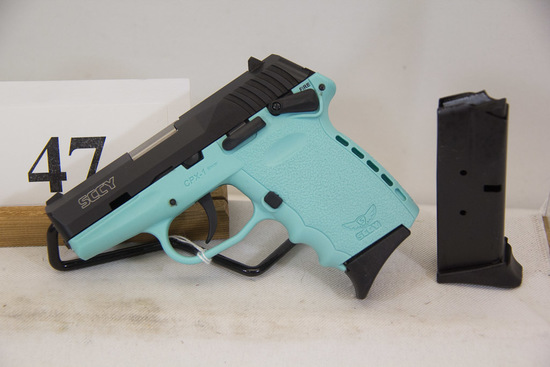 SCCY, Model CPX-1, Semi Auto Pistol, 9 mm cal,