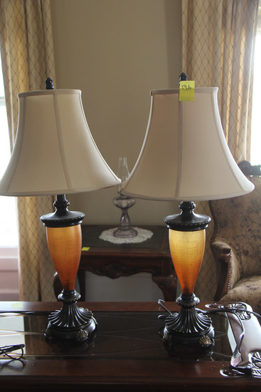 Lot of 2, Small Table Lamps