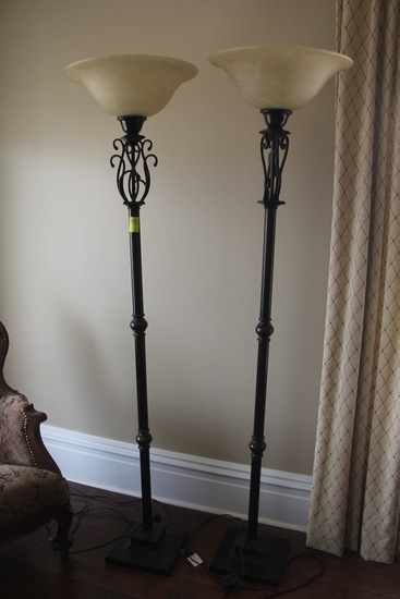 Lot of 2, Floor Lamps