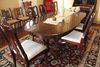Dining Table with 6 Chairs and 1 Leaf