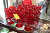 Lot of 11, Red Goblets