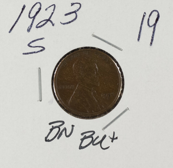 1923-S LINCOLN CENT - BN UNC