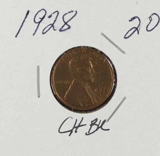 1928 - LINCOLN CENT - UNC