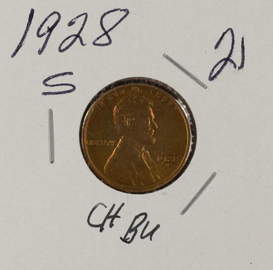1928 S - LINCOLN CENT - BU